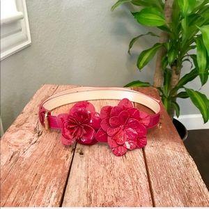 Anne Fontaine Florana leather embellished belt